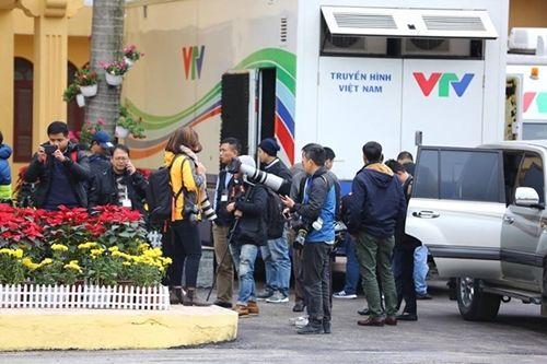 Truyền thông trong nước và quốc tế đổ dồn về ga Đồng Đăng đón ông Kim Jong-un - Ảnh 6