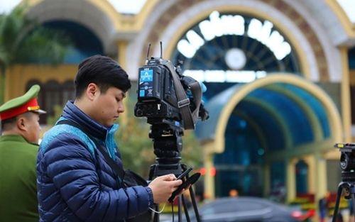 Truyền thông trong nước và quốc tế đổ dồn về ga Đồng Đăng đón ông Kim Jong-un - Ảnh 7