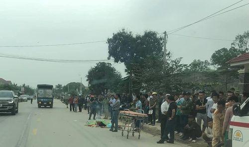 Nghệ An: Trên đường về nhà, thanh niên bị xe ben đâm văng, tử vong tại chỗ - Ảnh 1