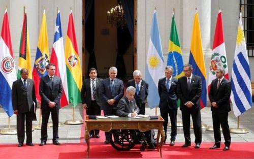 Từ bỏ Unasur, 7 nước Nam Mỹ lớn thành lập liên minh khu vực mới - Ảnh 1