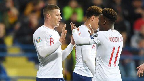 Anh liên tiếp đè bẹp đối thủ tại vòng loại Euro 2020 với tỷ số áp đảo - Ảnh 1