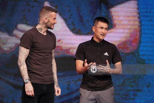 David Beckham thi đấu tâng bóng cùng với Công Vinh, Duy Mạnh tại TP.HCM - Ảnh 3