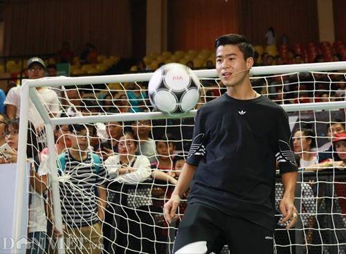 David Beckham thi đấu tâng bóng cùng với Công Vinh, Duy Mạnh tại TP.HCM - Ảnh 6