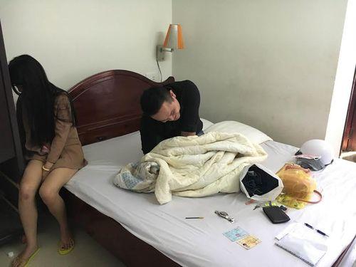 Bắt quả tang đôi tình nhân sử dụng thuốc lắc trong khách sạn  - Ảnh 1