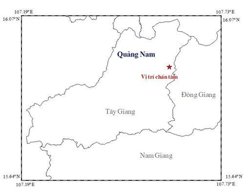 Quảng Nam: Động đất mạnh 3,7 độ richter - Ảnh 1