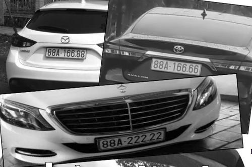 """Đi tìm đường dây chuyên """"bấm"""" biển """"siêu VIP"""" ở Vĩnh Phúc - Ảnh 2"""