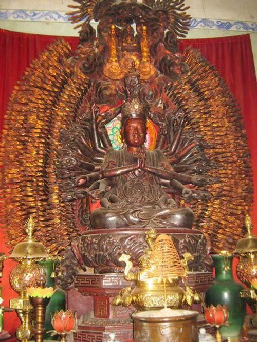 Hưng Yên: Pho tượng Phật nghìn mắt nghìn tay bị đánh cắp - Ảnh 3