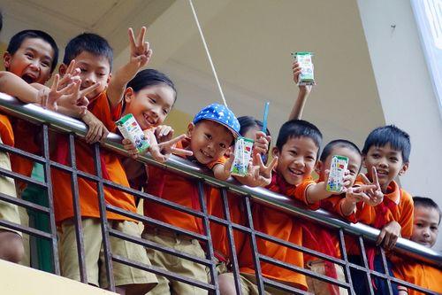 Vinamilk tiên phong trong sữa học đường, vì một Việt Nam vươn cao - Ảnh 7