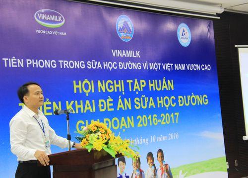 Vinamilk tiên phong trong sữa học đường, vì một Việt Nam vươn cao - Ảnh 1