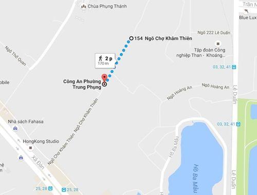 Vụ truy sát ở chợ Khâm Thiên: Nghi phạm là chồng nạn nhân - Ảnh 2