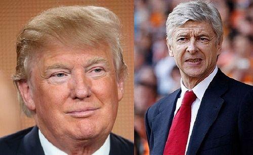 Tân tổng thống Mỹ tuyên bố cực sốc về HLV Arsene Wenger - Ảnh 1
