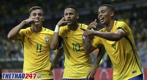 Vòng loại World Cup 2018: Argentina thua đậm Brazil, Chile 'hụt chết' - Ảnh 1