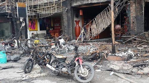 Chưa xác định được nguyên nhân vụ cháy quán karaoke làm 13 người thiệt mạng - Ảnh 1