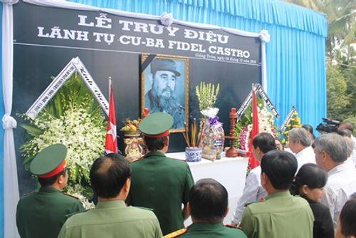 Tổ chức lễ truy điệu lãnh tụ Cuba Fidel Castro - Ảnh 3