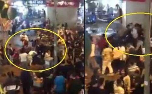 2 nhóm thanh niên náo loạn phố đi bộ Hà Nội là do mâu thuẫn trên facebook - Ảnh 1