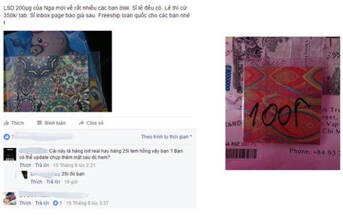 Bố mẹ lưu ý, trẻ dễ loạn thần do ngậm 'tem' giấy được bán trước cổng trường - Ảnh 2