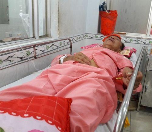 Con dâu đánh bố chồng nhập viện vì tranh chấp đất đai - Ảnh 1