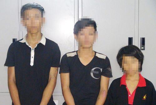 """4 thanh niên đuổi bắt """"nghẹt thở"""" nhóm trộm """"nhí"""" ở Nha Trang lúc rạng sáng - Ảnh 1"""