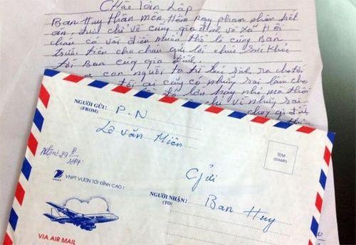 Lá thư xúc động bố Lê Văn Luyện gửi cán bộ trại giam - Ảnh 1