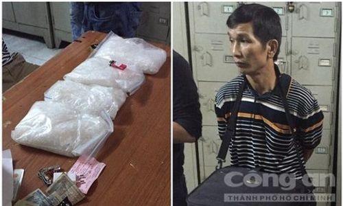 Triệt phá đường dây buôn ma túy từ Bắc vào Nam, thu giữ gần 4kg ma túy - Ảnh 2