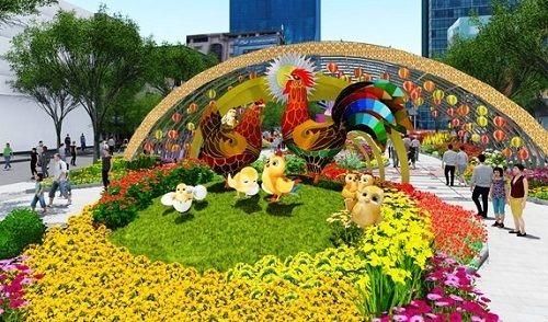 Phân luồng tại trung tâm TP HCM để thi công đường hoa  - Ảnh 2