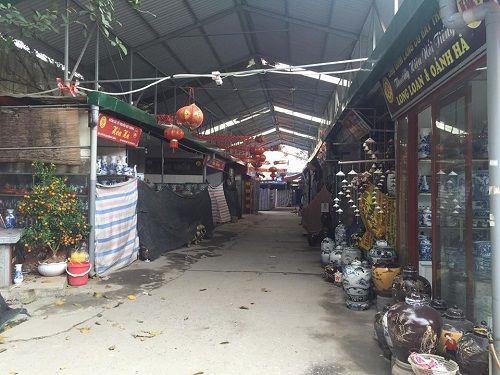 Ảnh: Hàng trăm tiểu thương chợ Gốm phản đối Hapro Bát Tràng đóng chợ - Ảnh 9