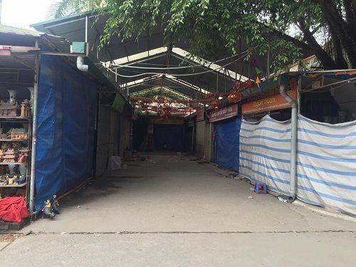 Ảnh: Hàng trăm tiểu thương chợ Gốm phản đối Hapro Bát Tràng đóng chợ - Ảnh 6