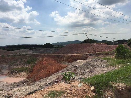 Chí Linh: Khai thác đất sét hàng chục năm không hoàn thổ vẫn xin mở rộng tận thu khoáng sản - Ảnh 4