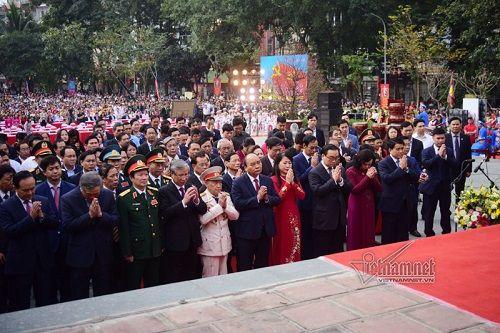 Thủ tướng dự Lễ hội 230 năm chiến thắng Ngọc Hồi - Đống Đa - Ảnh 2