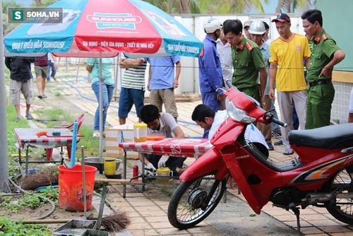 Đà Nẵng: Nhân viên bảo vệ bãi tắm chết bất thường gần miệng cống - Ảnh 1