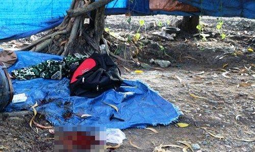 Nam thanh niên xăm trổ chết bất thường trong quán nước - Ảnh 1
