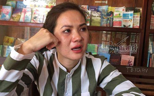 Nước mắt hot girl Hà thành sau cánh cửa trại giam - Ảnh 2