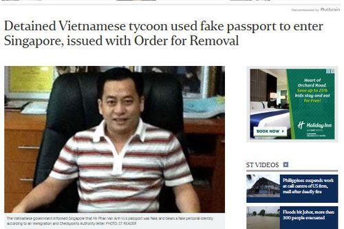 Bộ Nội vụ Singapore: Ông Phan Van Anh Vu đã bị Interpol phát lệnh truy nã đỏ - Ảnh 1