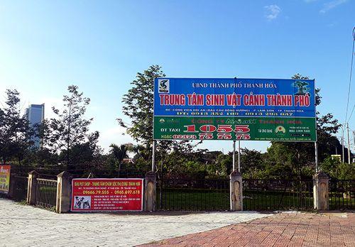 """Thanh Hóa: Ngang nhiên """"xẻ thịt"""" Công viên Hội An để kinh doanh - Ảnh 9"""