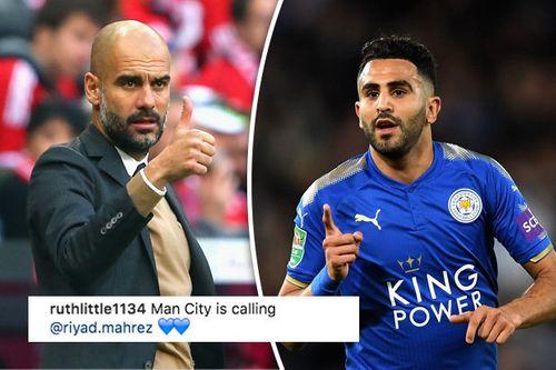 Hè tới Man City tiếp tục theo đuổi Mahrez - Ảnh 1