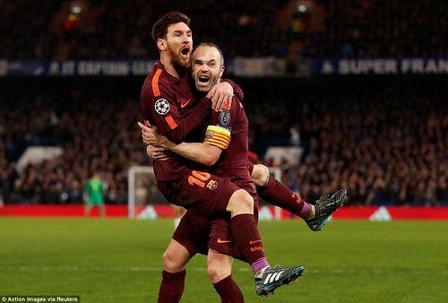 Clip Chelsea 1-1 Barcelona: Lần đầu của Messi - Ảnh 3