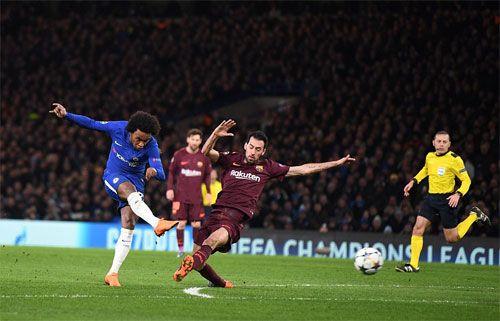 Clip Chelsea 1-1 Barcelona: Lần đầu của Messi - Ảnh 2