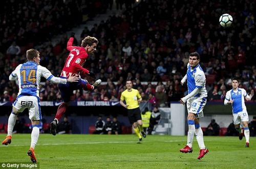 """Griezmann """"nã pháo"""" lưới Leganes, Atletico thách thức Barca - Ảnh 1"""