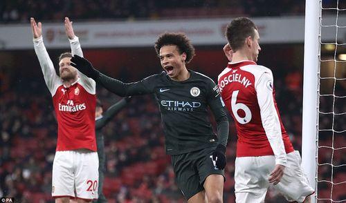 Clip Arsenal 0-3 Man City: Thêm một lần đau - Ảnh 1