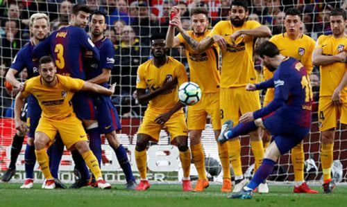Clip Barca 1-0 Atletico Madrid: Cắt đuôi kẻ bám đuổi - Ảnh 1