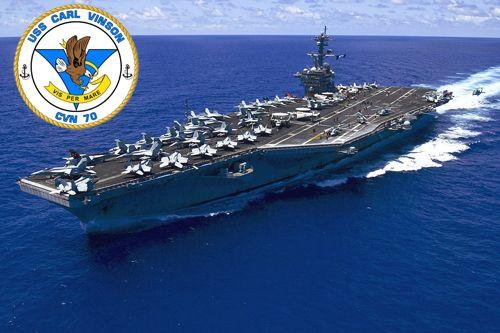 Cận cảnh tàu sân bay USS Carl Vinson tại Đà Nẵng - Ảnh 1