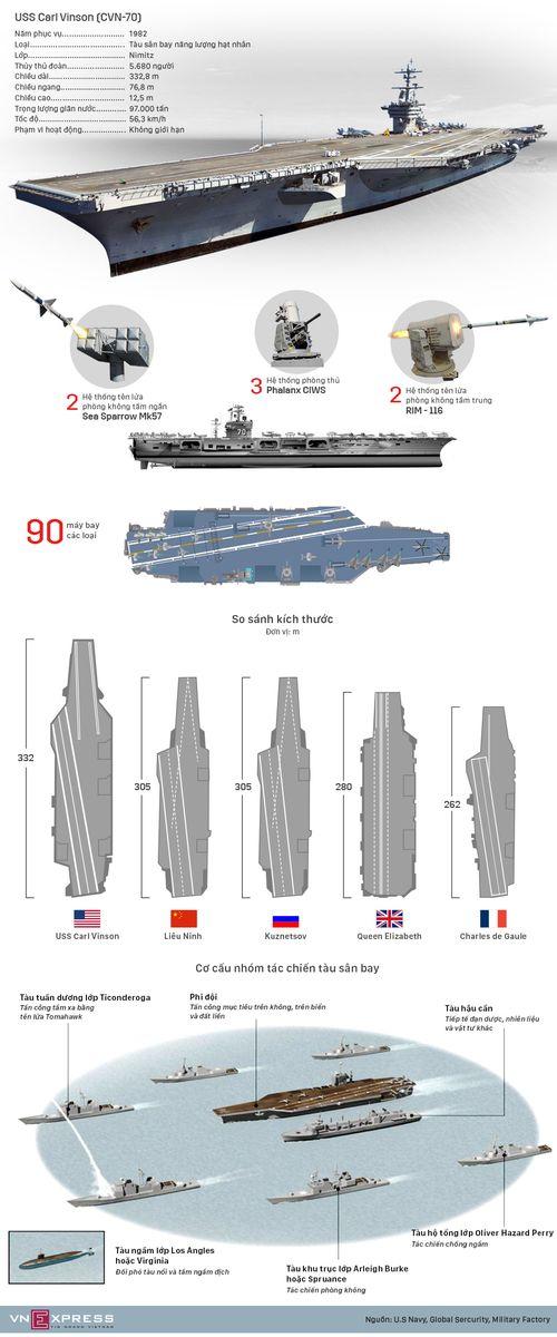 Cận cảnh tàu sân bay USS Carl Vinson tại Đà Nẵng - Ảnh 2