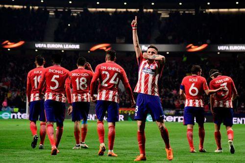 Tiếp đón người Nga, Atletico Madrid đặt một chân vào tứ kết Europa League - Ảnh 2