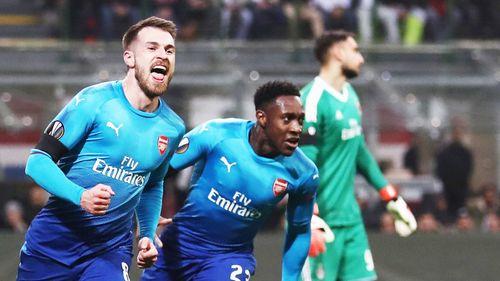 Clip AC Milan 0-2 Arsenal: Thầy trò Wenger trút giận - Ảnh 2