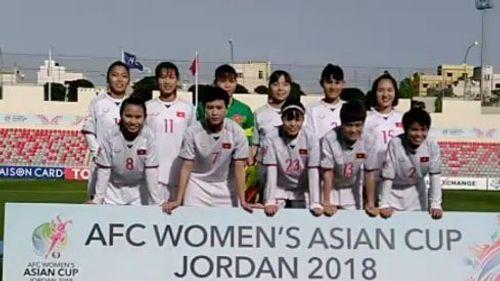 Thua Hàn Quốc 0-4, tuyển nữ Việt Nam trắng tay rời giải châu Á  - Ảnh 1