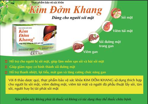 Nghiên cứu vai trò của Kim Đởm Khang trong hỗ trợ điều trị sỏi mật - Ảnh 3