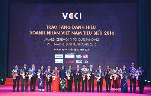 100 doanh nhân Việt Nam tiêu biểu 2016 nhận cúp Thánh Gióng - Ảnh 2