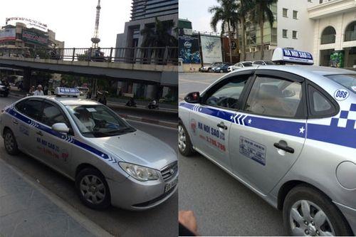 Hà Nội tăng cường phạt taxi dù ngoại tỉnh - Ảnh 1