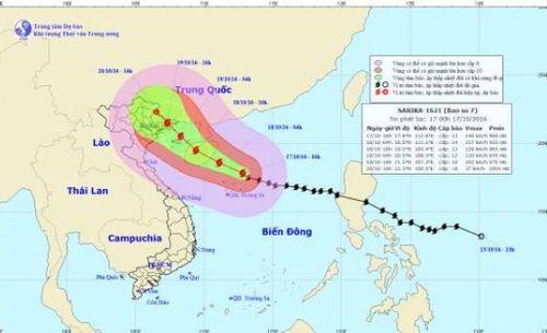 Dự báo thời tiết ngày mai 18/10: Vùng biển gió mạnh tăng cường - Ảnh 1