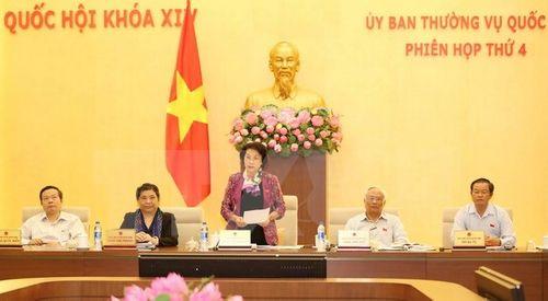 Bế mạc Phiên họp thứ Tư của Ủy ban Thường vụ Quốc hội khóa XIV - Ảnh 1